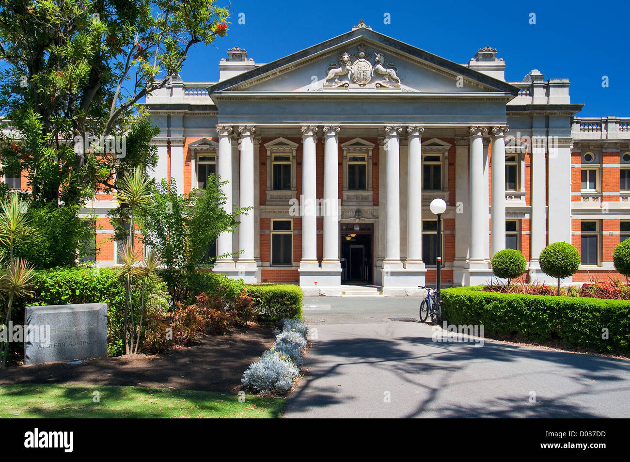 Perth Supreme Court. - Stock Image