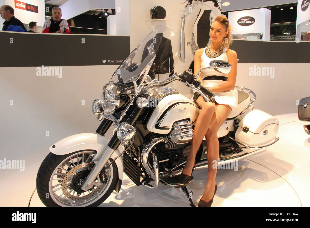 Wednesday, November 14, 2012 - Milan, Italy: EICMA, 70th International Bicycle and motorcycle Exhibition in Milan - Stock Image