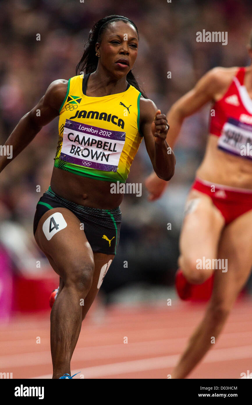 Veronica Campbell-Brown 7 Olympic medals