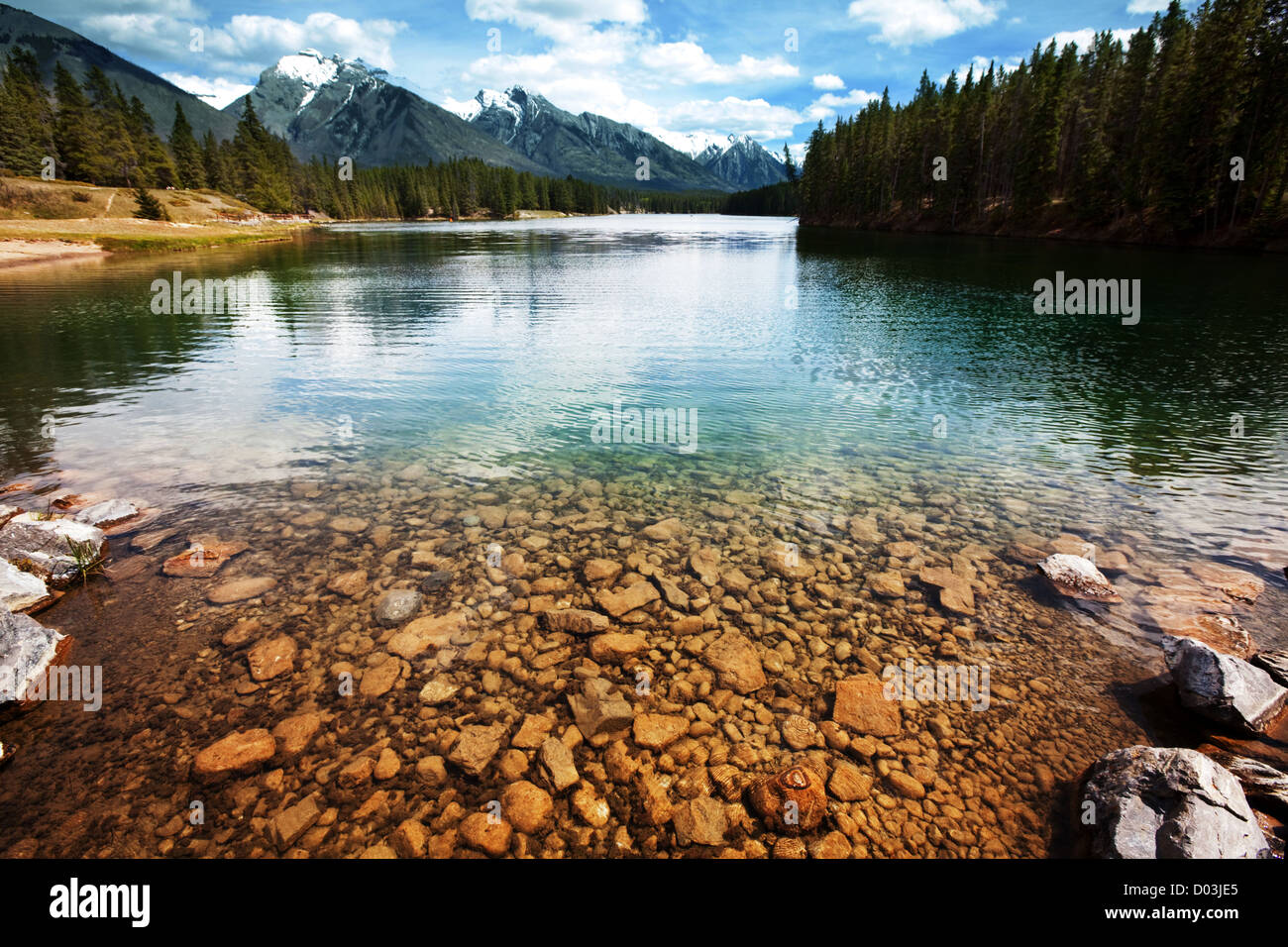lake in Canada - Stock Image
