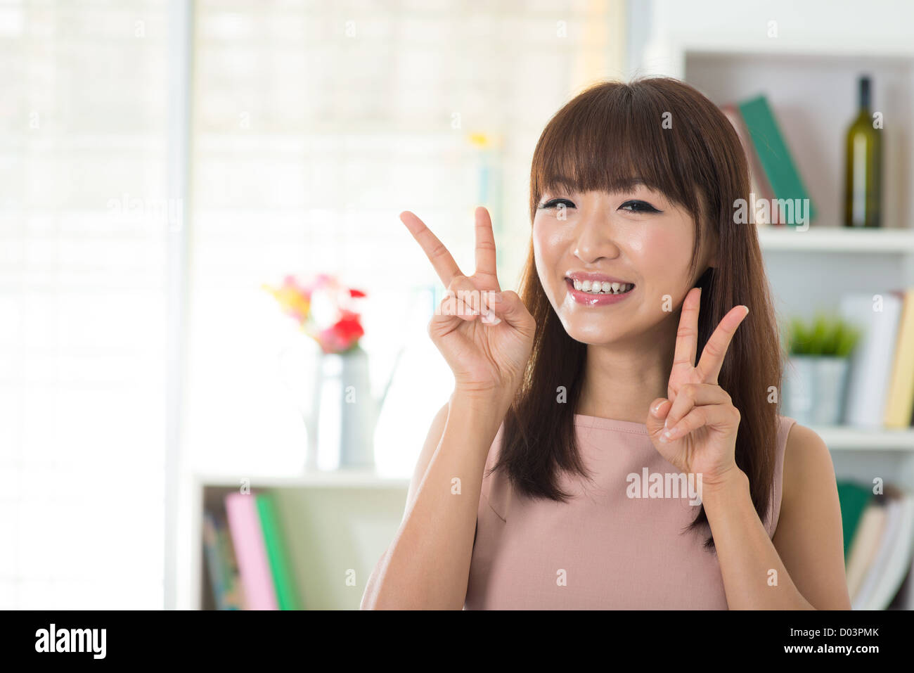 Asian peace sign photos Why
