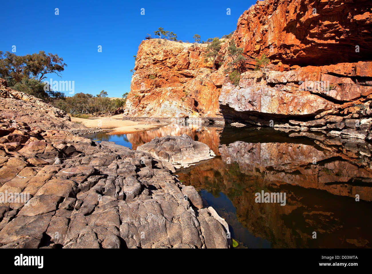 Ormiston Gorge West MacDonnell Ranges - Stock Image