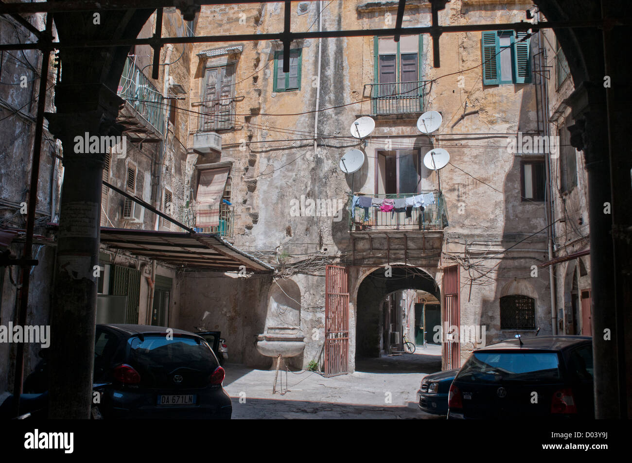 Palermo old city - Stock Image