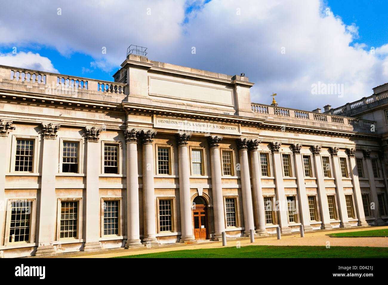 Trinity College of Music, Admiral's House, King Charles Court, Old Royal Naval College, Greenwich, London, UK - Stock Image