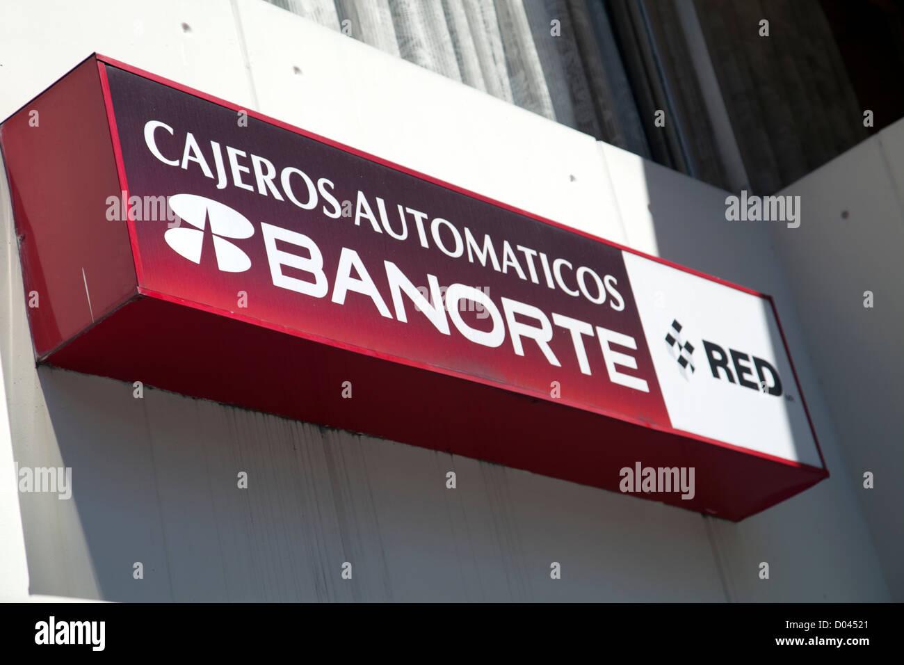 Banorte: Bank Of Mexico Sign Stock Photos & Bank Of Mexico Sign