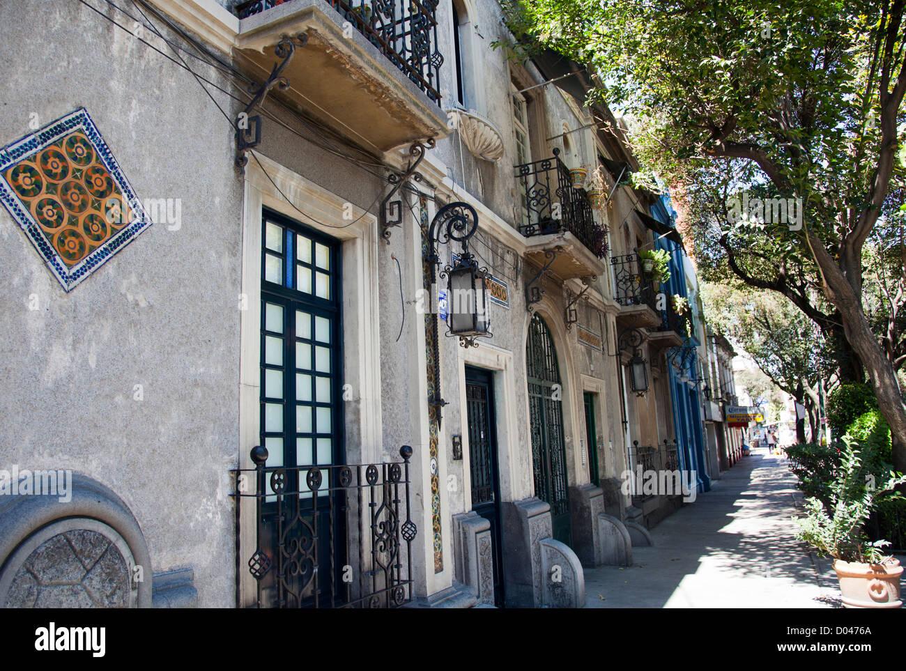 roma norte district architecture in mexico city df stock photo rh alamy com roma norte mexico city airbnb roma norte mexico city safety