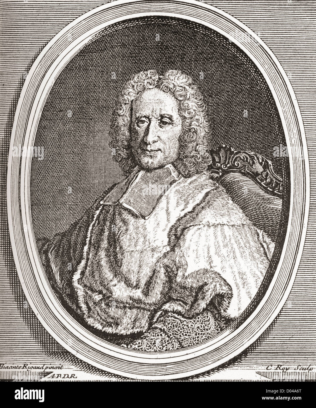 Guillaume Dubois, 1656 – 1723. French cardinal and statesman. - Stock Image