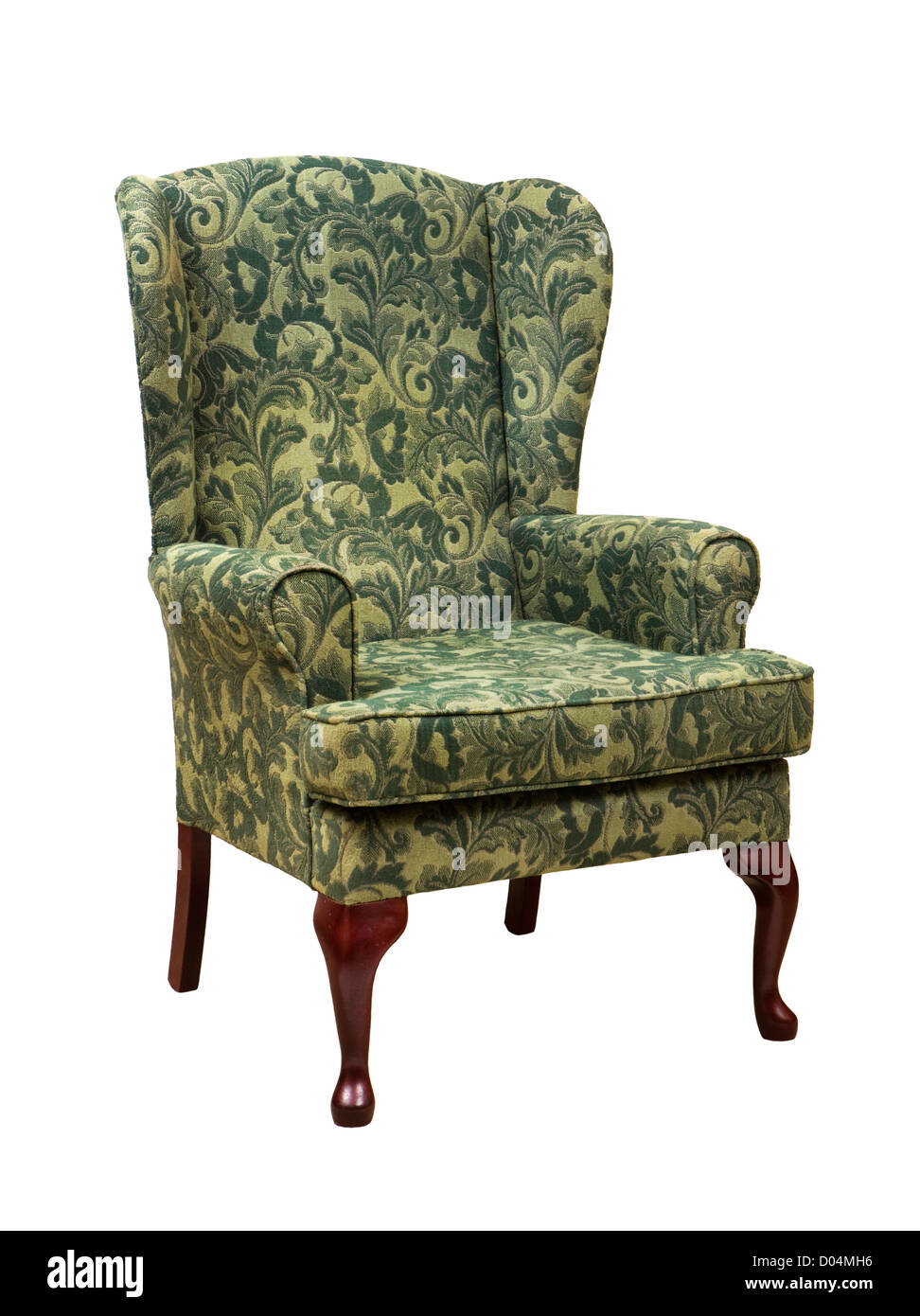 Armchair, traditional style. - Stock Image