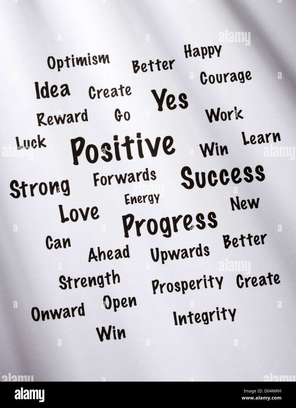 negative and positive thinking pdf