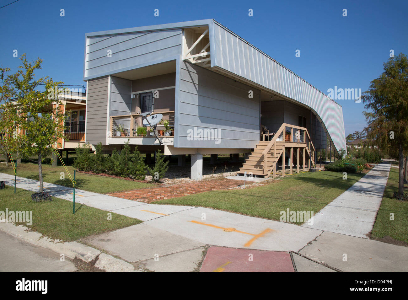New orleans louisiana new homes in the lower ninth ward for Home builders in louisiana