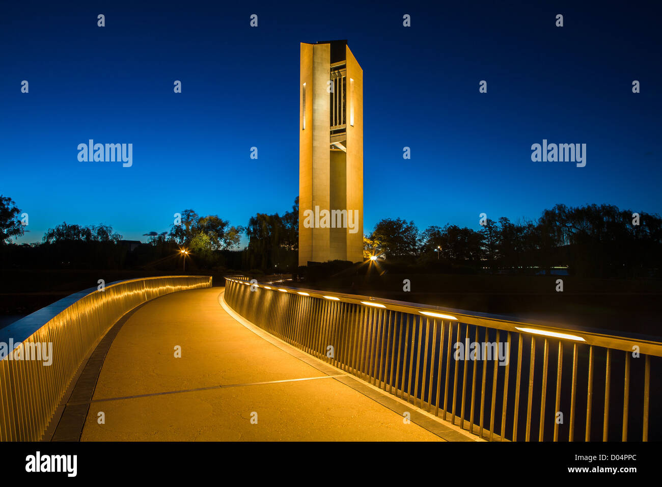National Carillon, Canberra, ACT - Stock Image