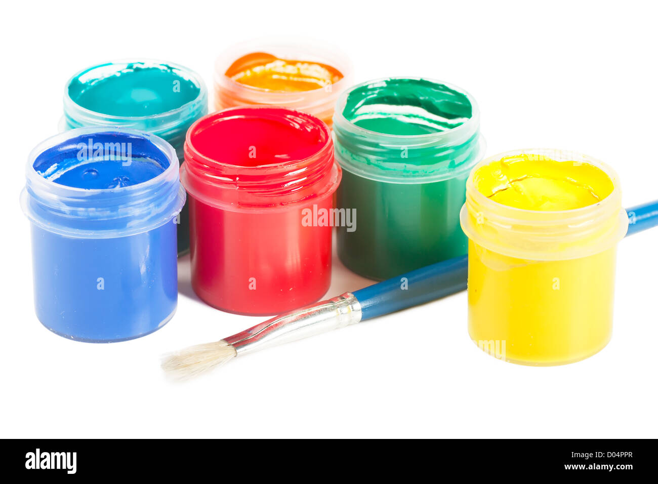 Gouache Stock Photo