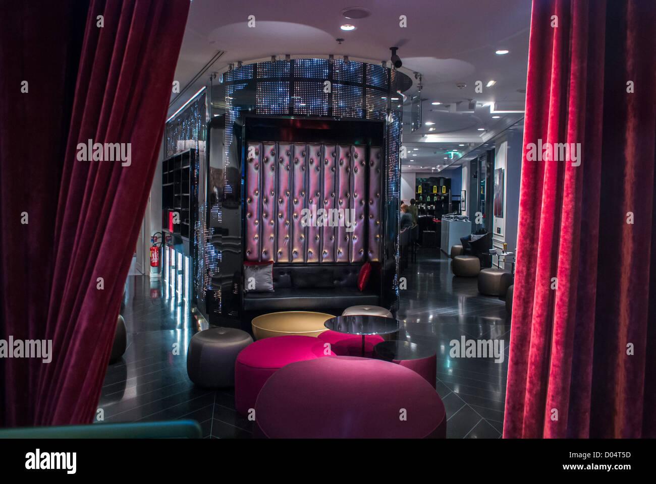 Paris, France, Bar Lounge \