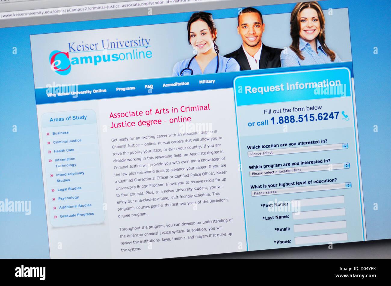 Keiser University Email >> Keiser University Website Online Degree Programs Stock