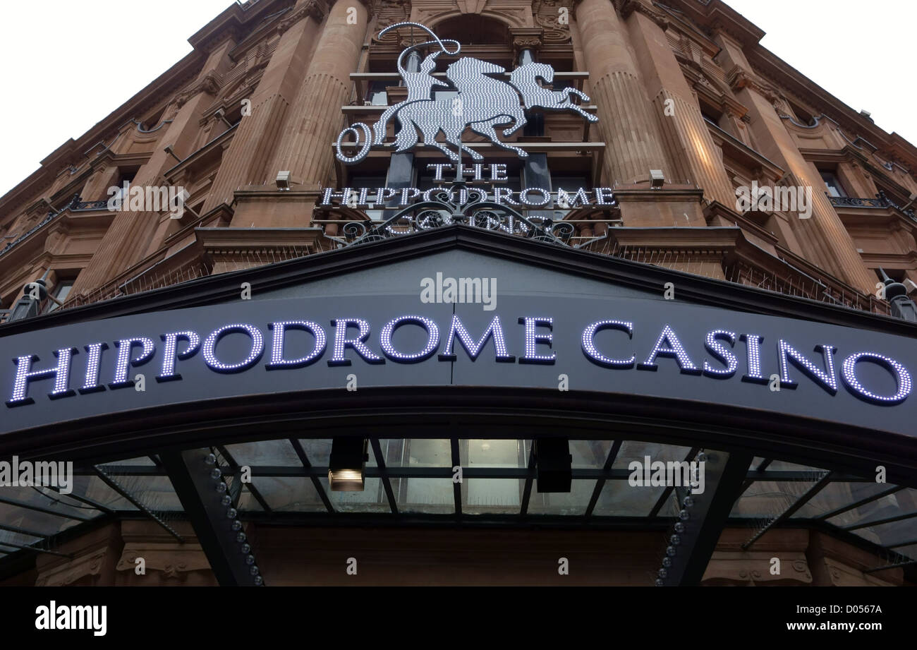 The Hippodrome Casino, Leicester Square, London - Stock Image