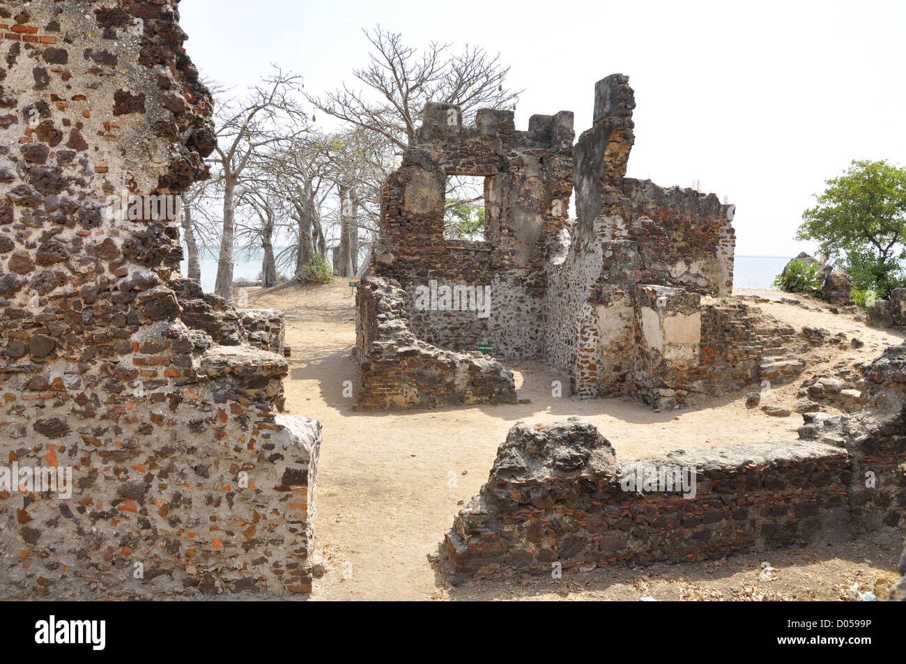 Slave islandKunta Kinte Island in The Gambia - Stock Image