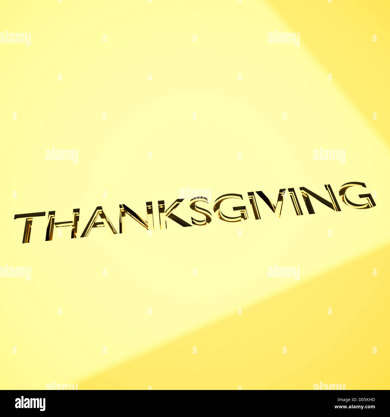 Thanksgiving Message In Engraving For Celebrations Concepts Or