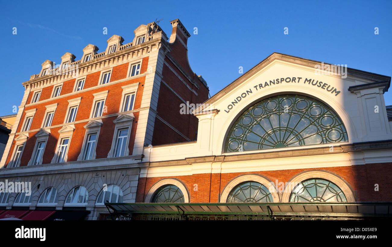 London's Transport Museum, Covent Garden, London, England, UK - Stock Image