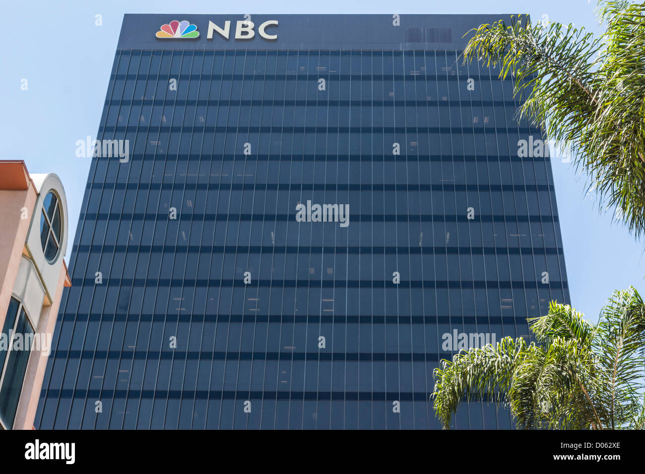 NBC National Broadcasting Corporation HQ in San Diego California. - Stock Image