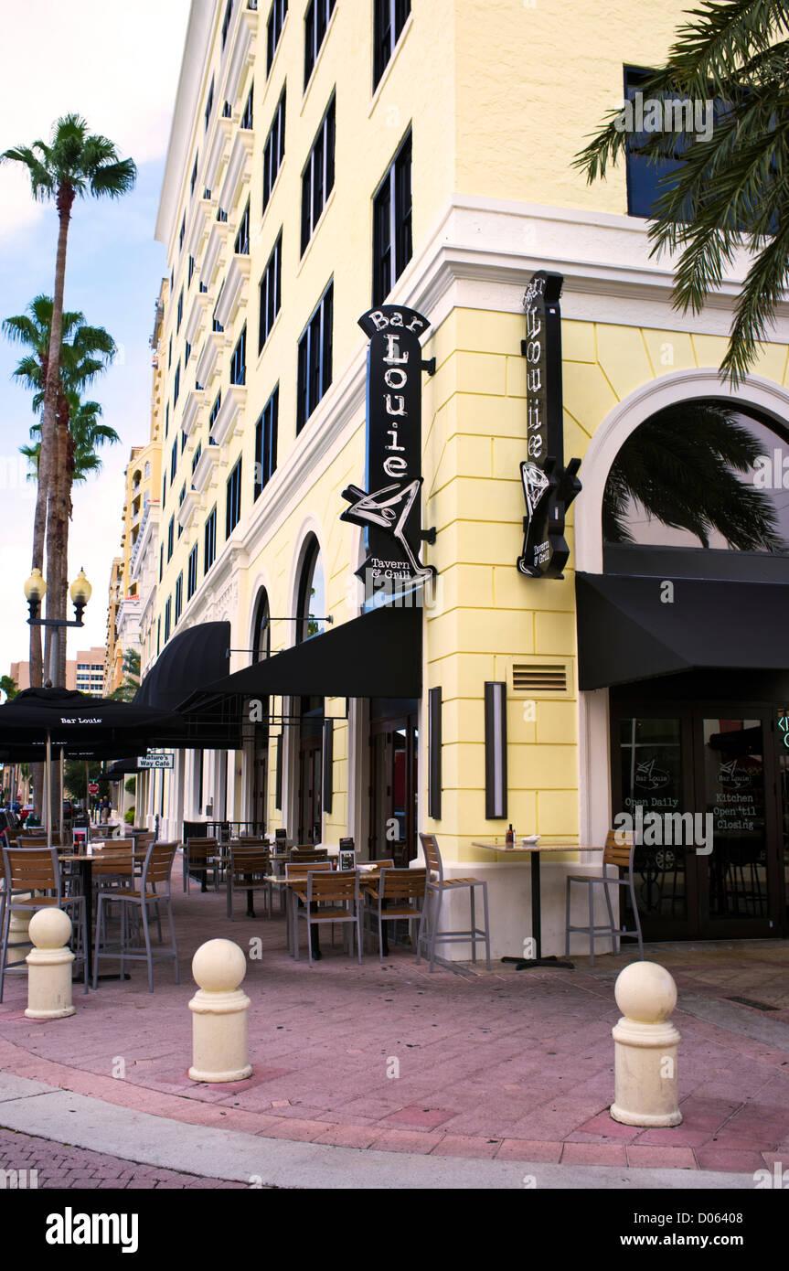 Palm tree bar stock photos images