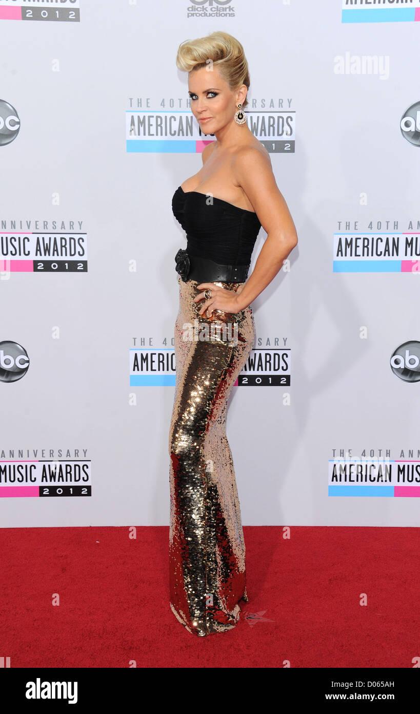 Los Angeles, California. 18th November 2012. Jenny McCarthy arrives at the 40th Anniversary American Music Awards - Stock Image