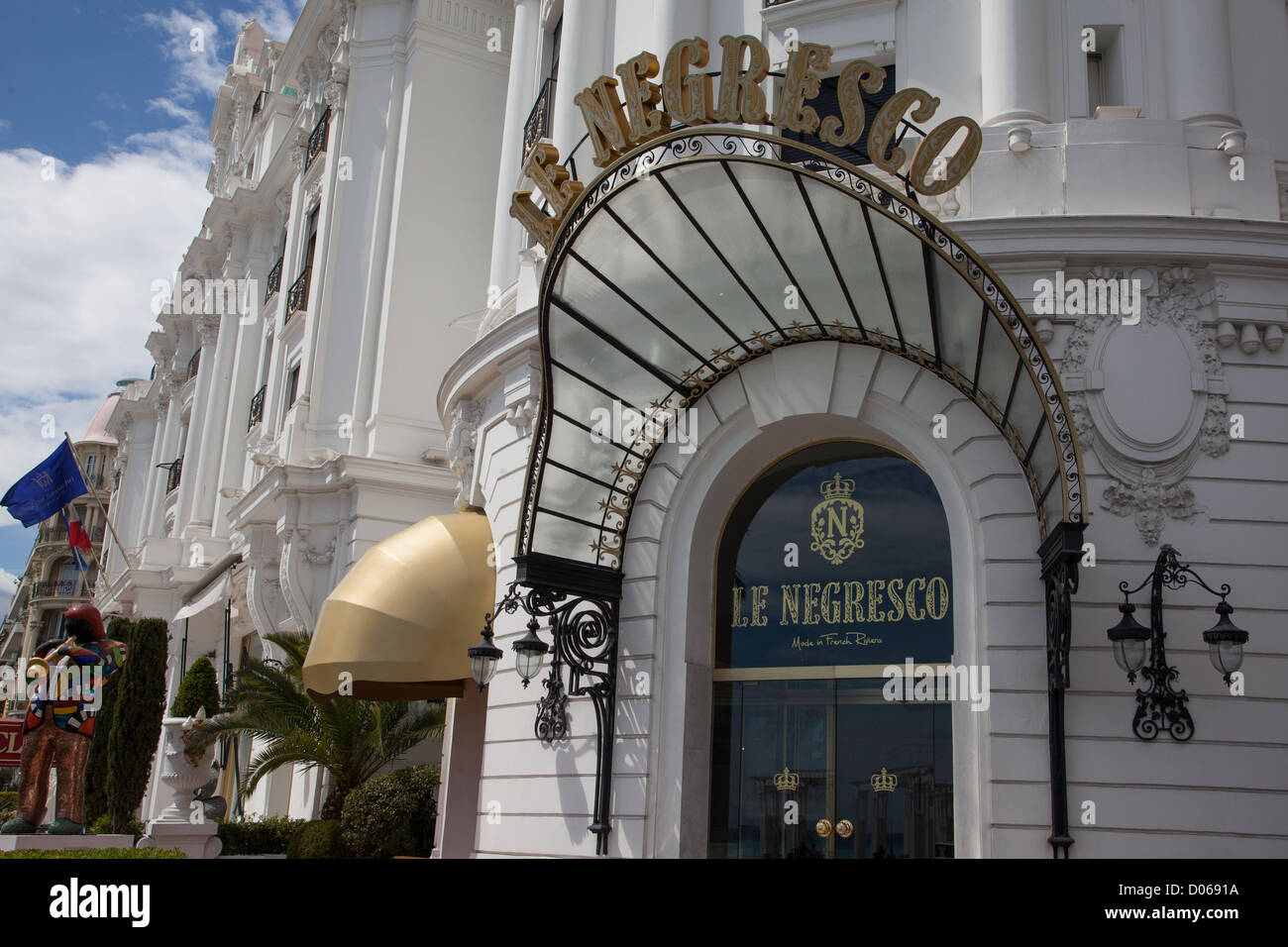 FACADE OF THE 5-STAR HOTEL LE NEGRESCO PROMENADE DES ANGLAIS NNICE ALPES-MARITIMES (06) FRANCE - Stock Image