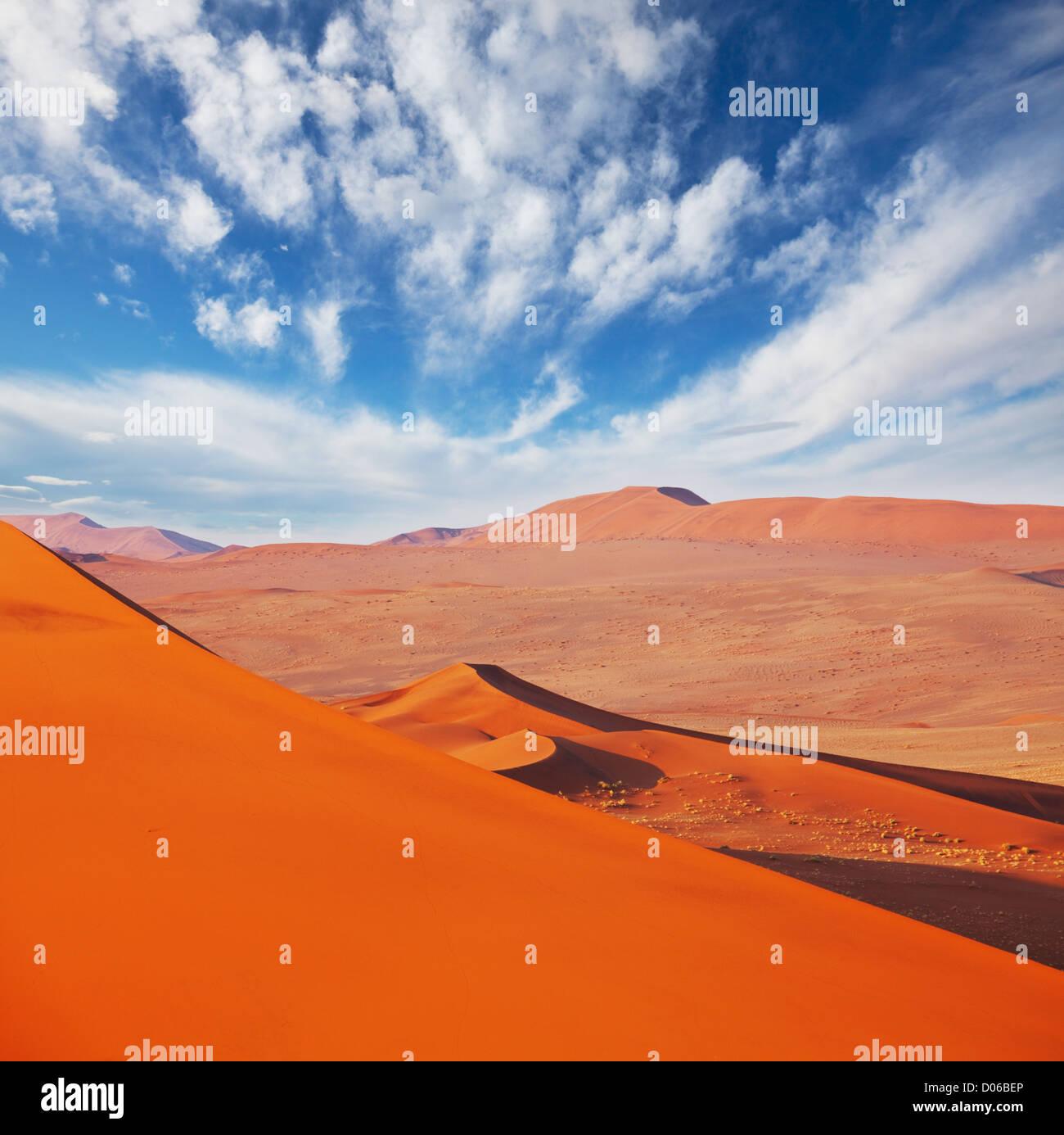 Namib desert - Stock Image