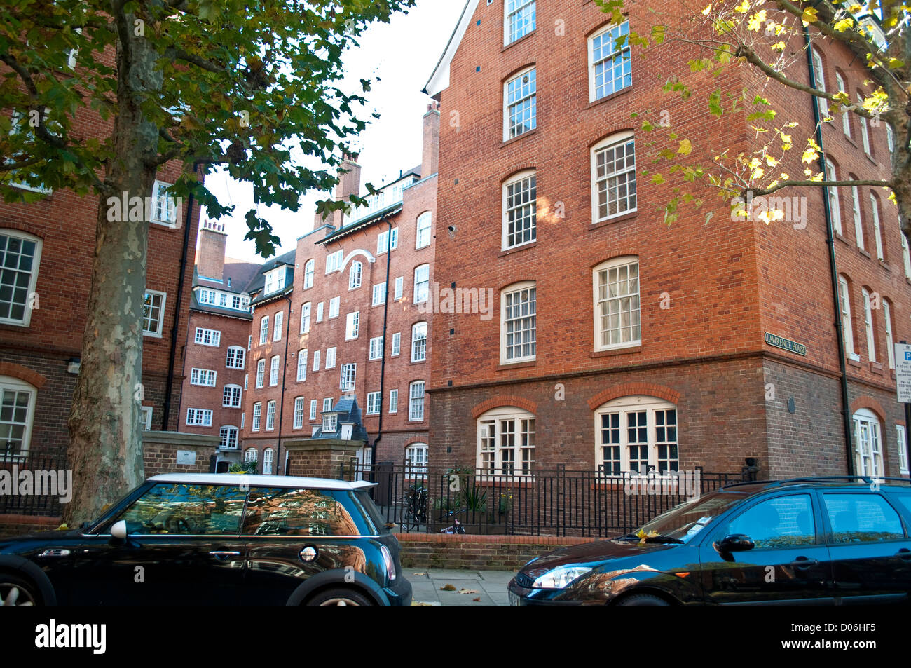 Council Housing, Cureton Street, SW1, City of Westminster, London, UK - Stock Image