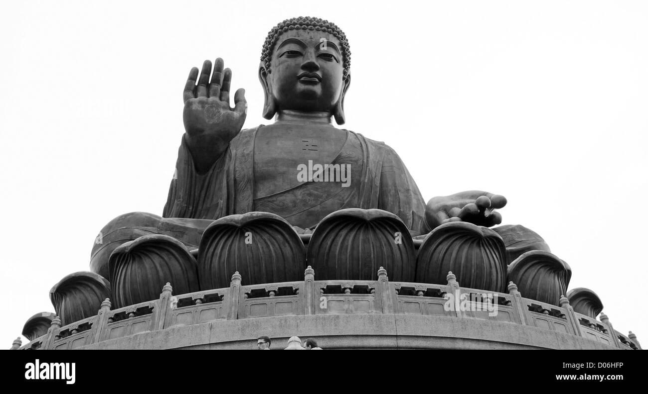 The Big Buddha in Hong Kong - Stock Image