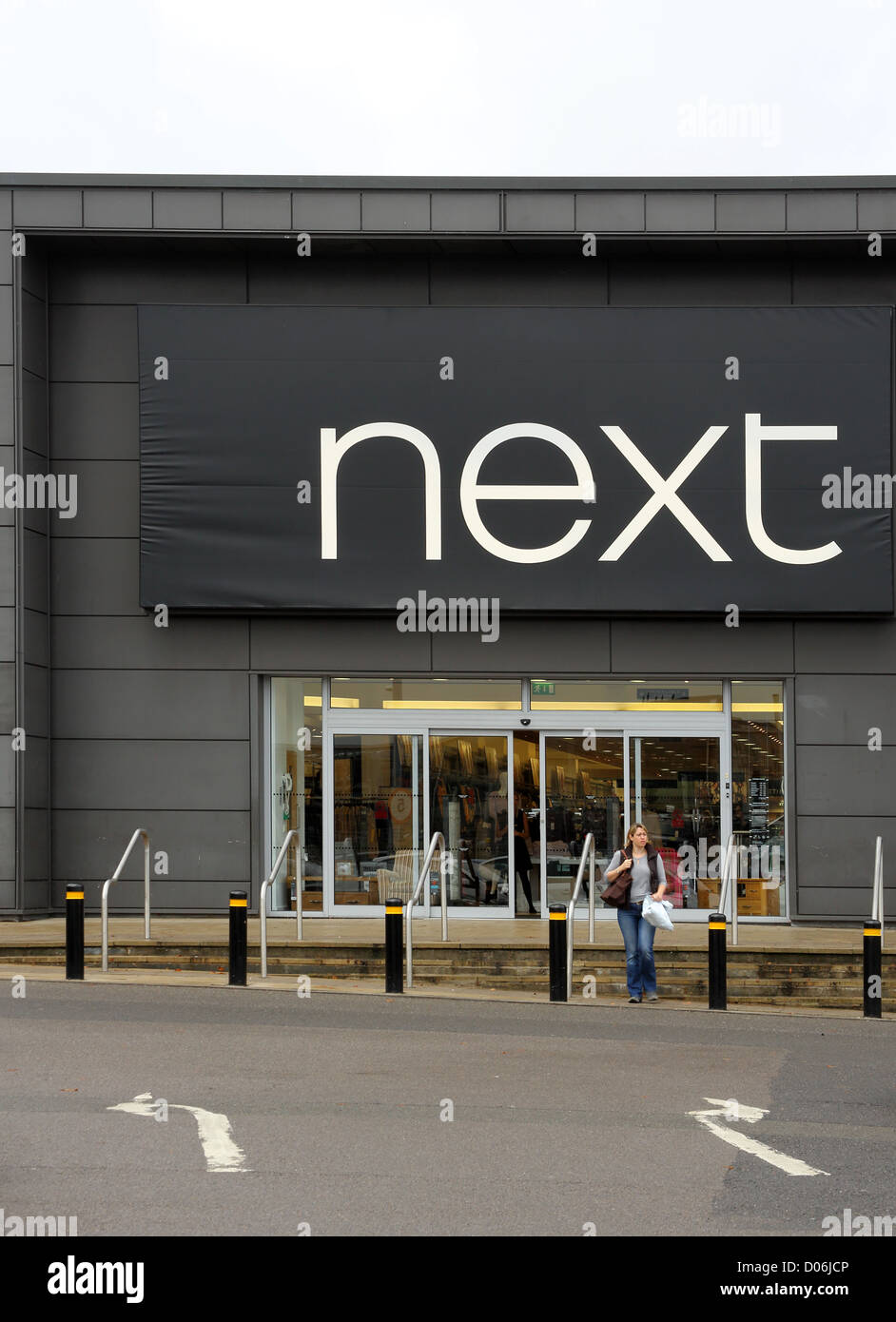 next at county oak retail park in crawley - Stock Image