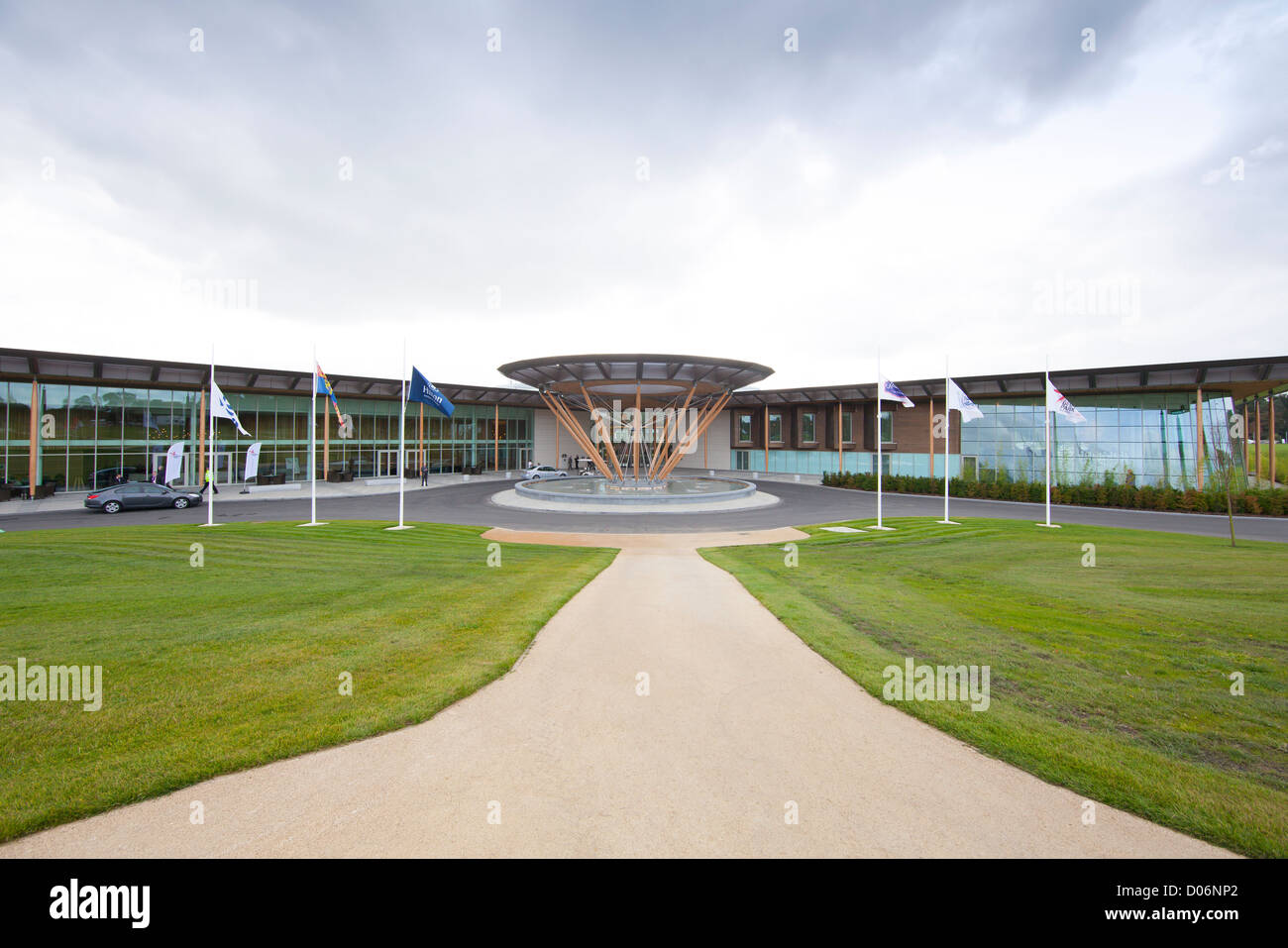 St George's Park hotel facilities, The FA Training Facility, Burton on Trent, Staffordshire, England - Stock Image