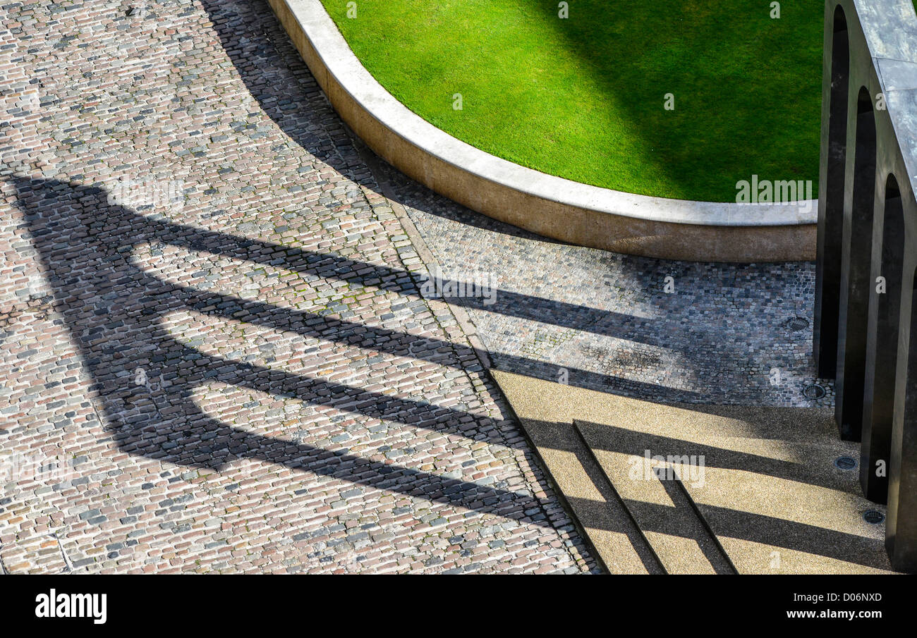 The art sculpture, Brindleyplace, Birmingham - Stock Image
