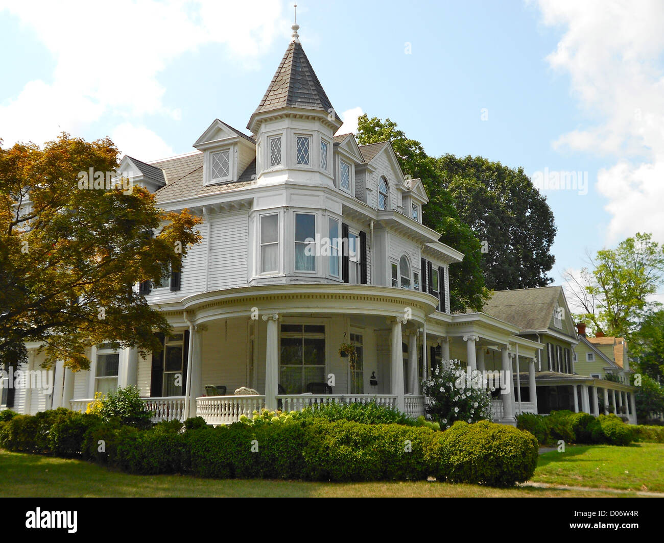 Draper House on the NRHP since April 22, 1982. 200 Lakeview Ave., Milford, Delaware. In Sussex County part of Milford - Stock Image