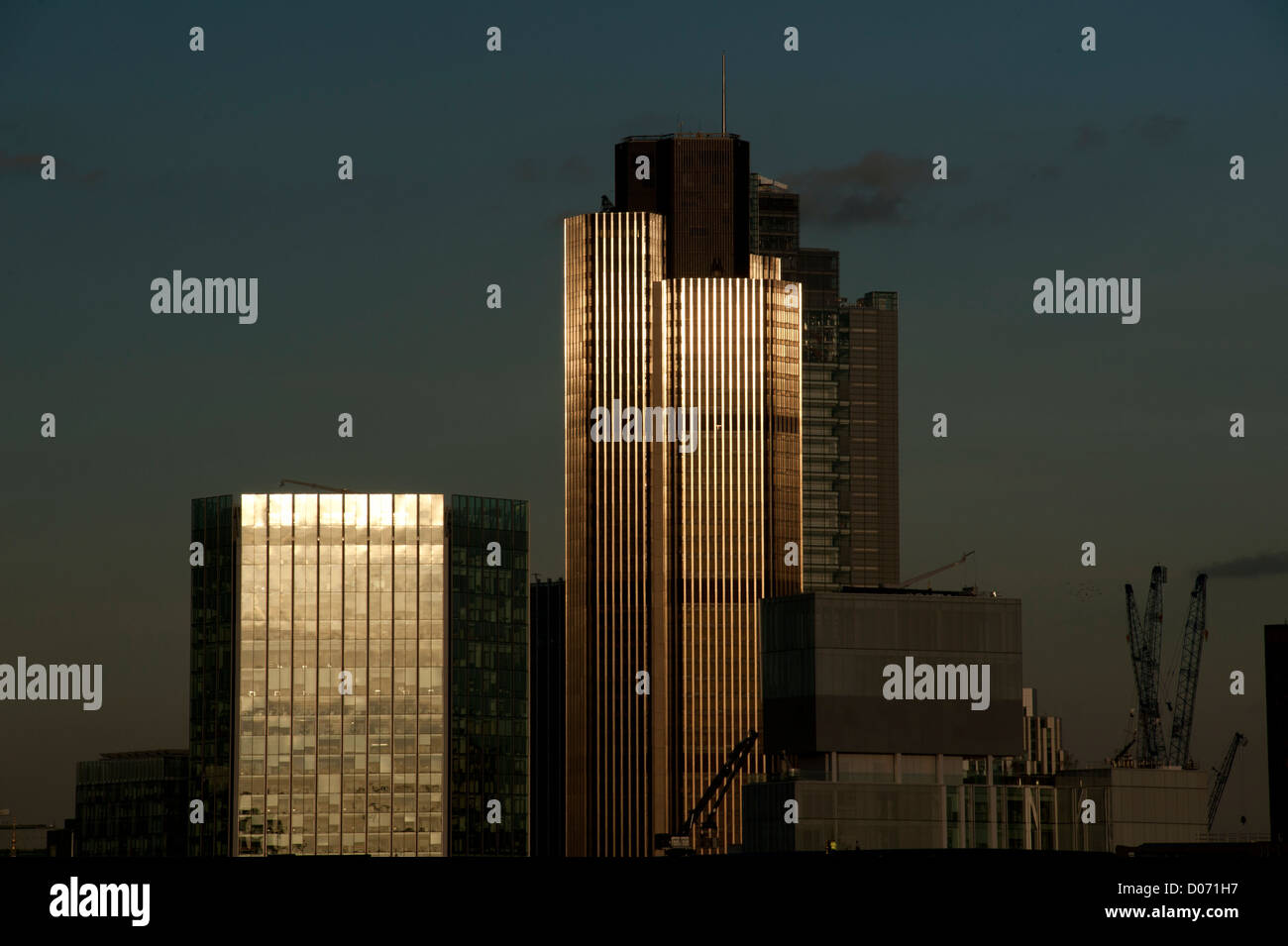 City of London showing Tower 42, London, England, UK. BRIAN HARRIS © 11-2012 Tower 42 - Stock Image