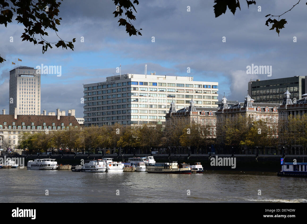 St .Thomas' Hospital Lambeth London - Stock Image