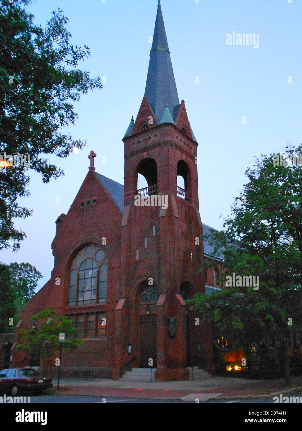 St. Marks Episcopal Church in the Capitol Hill Historic District, Washington, DC, which is listed on the NRHP. Building - Stock Image