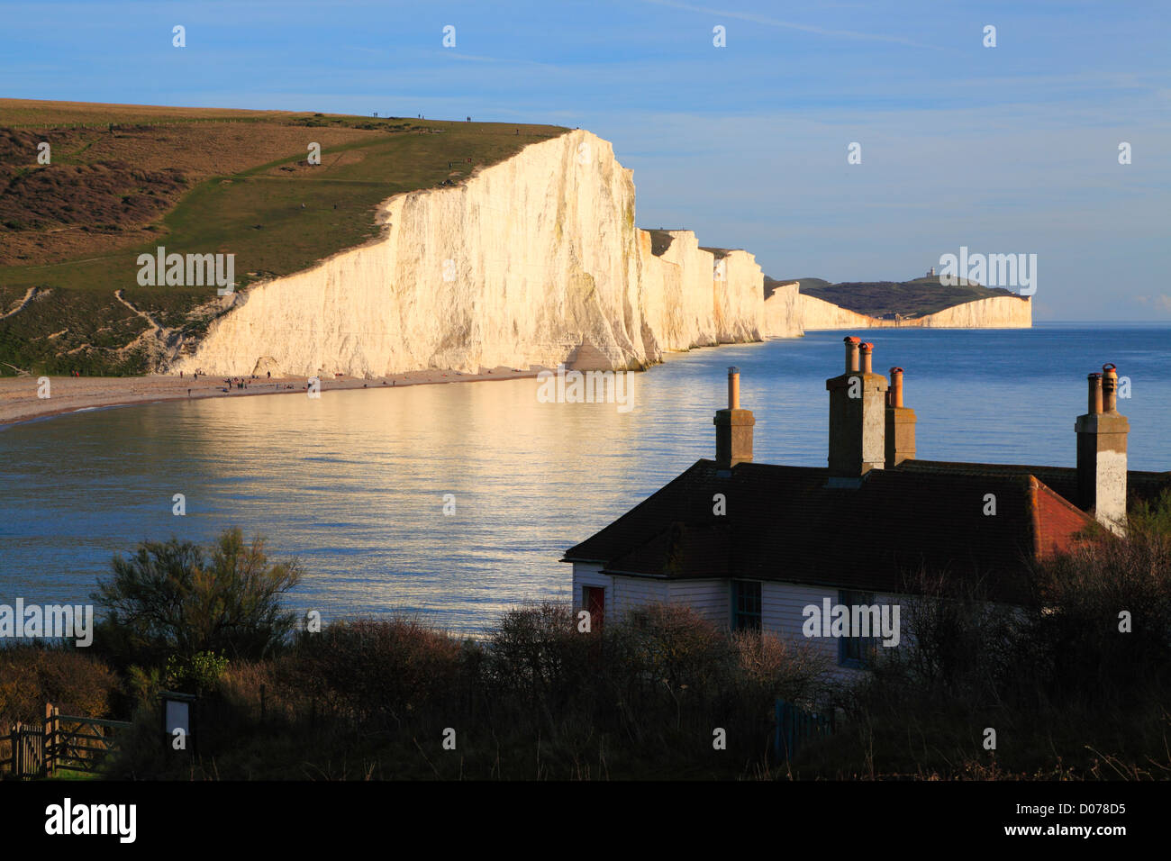 how to get to seven sisters cliffs