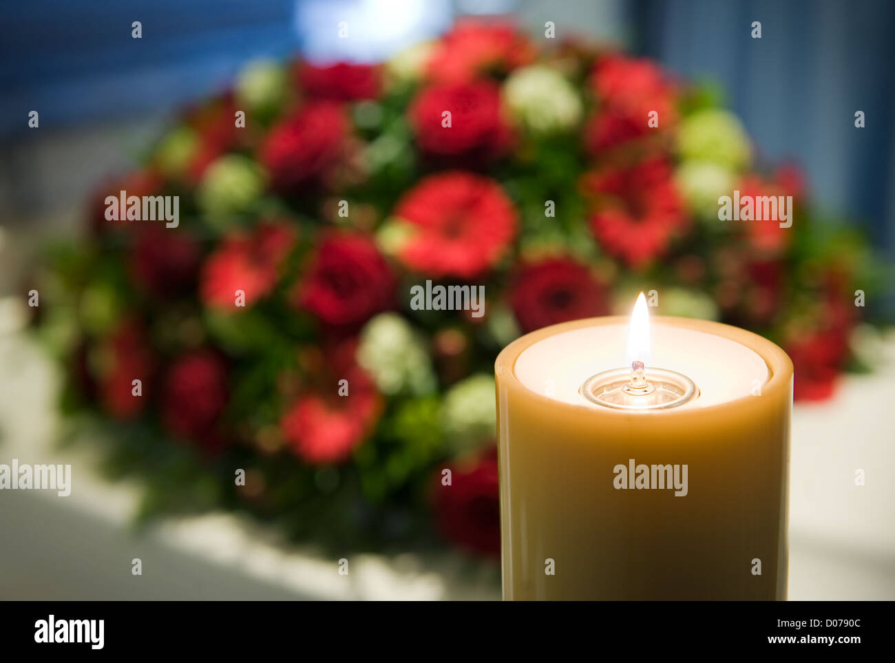 Death Flowers Candle Stock Photos & Death Flowers Candle Stock ...