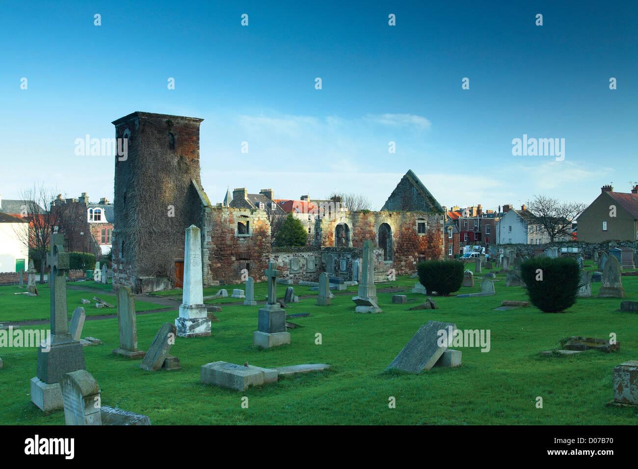 Kirk Ports Church North Berwick, East Lothian - Stock Image