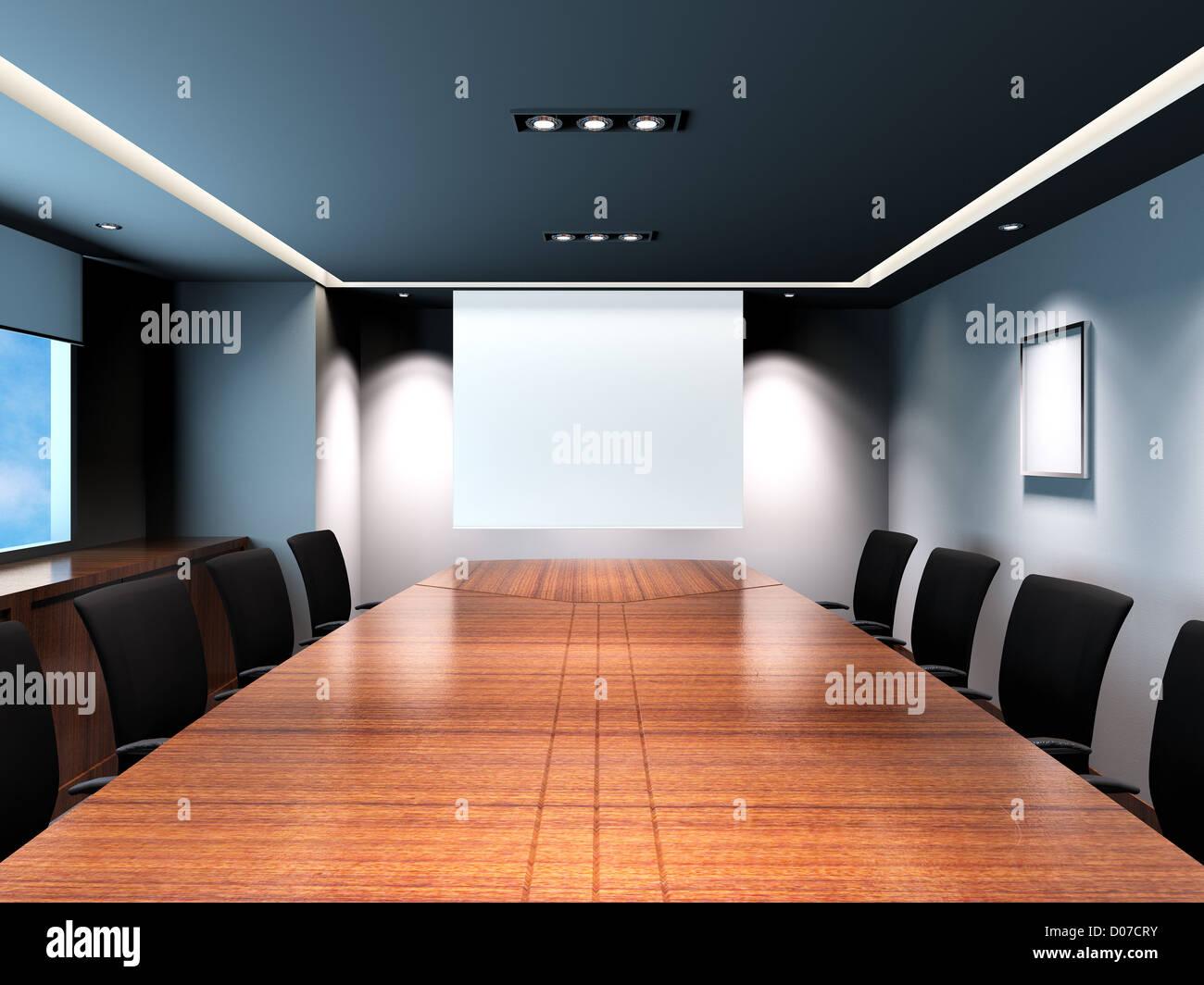 business meeting room modern