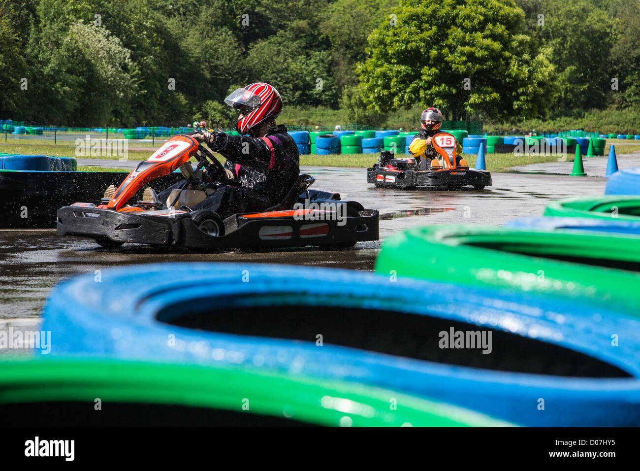 karting helmet stock photos karting helmet stock images alamy. Black Bedroom Furniture Sets. Home Design Ideas