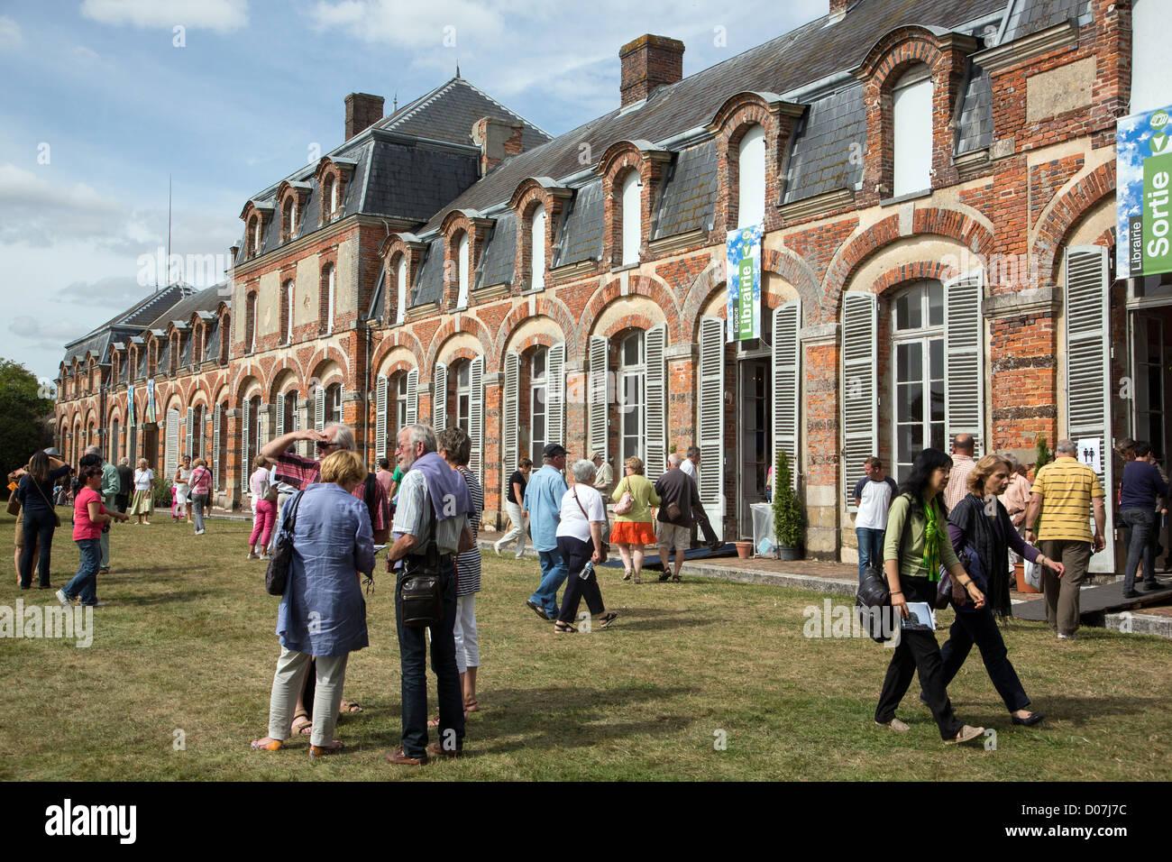BOOK FESTIVAL DOMAINE DE SAINT-SIMON LA FERTE-VIDAME EURE-ET-LOIR (28) FRANCE - Stock Image