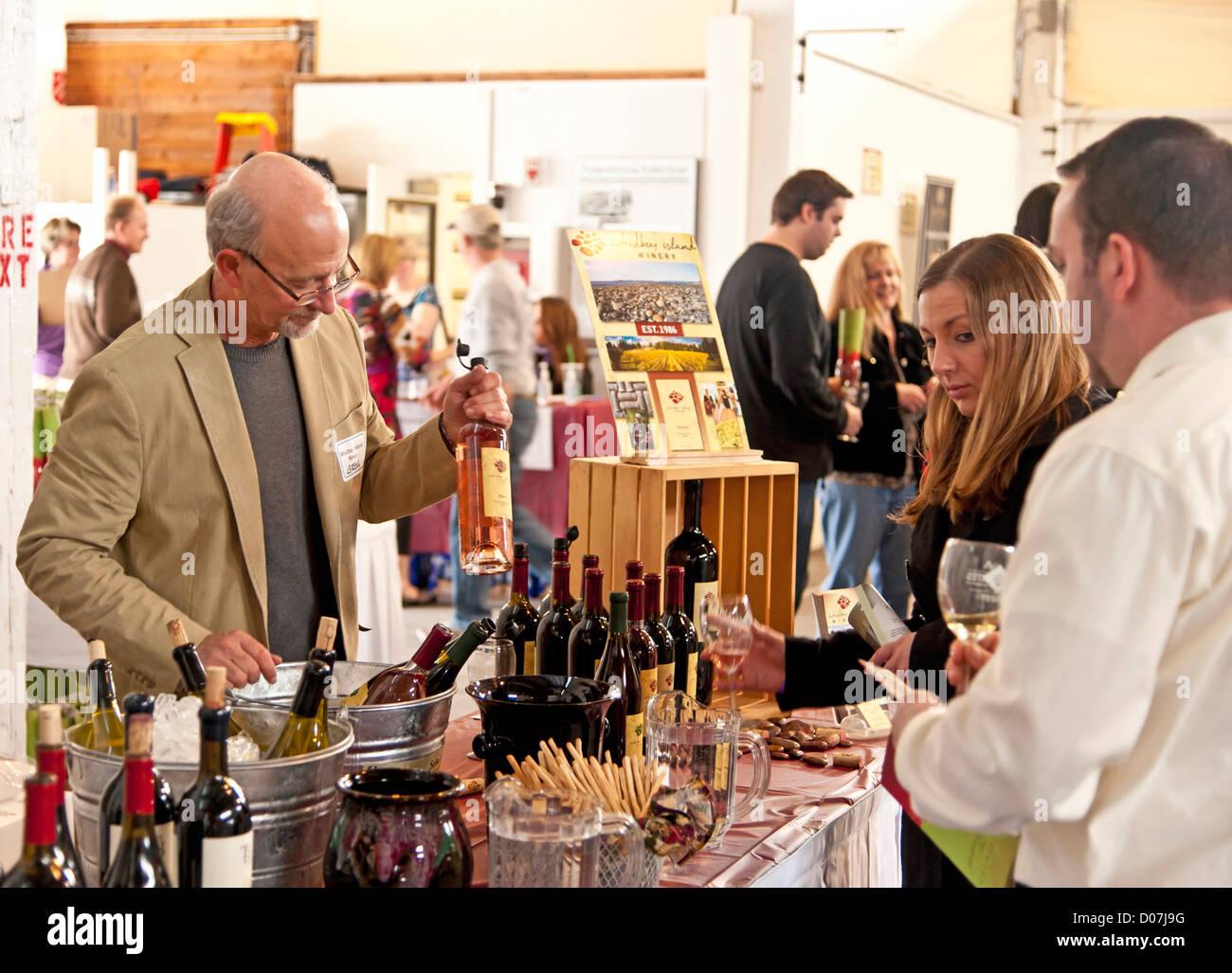Usa Washington Anacortes Spring Wine Festival Features Over 30