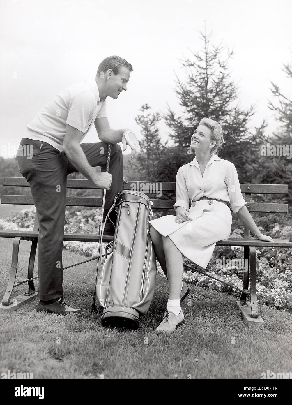 Vintage Golf High Resolution Stock Photography And Images Alamy