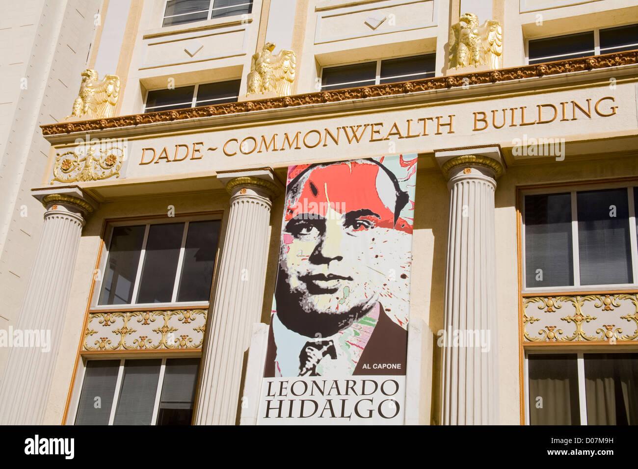 Dade-Commonwealth Building,Miami,Florida,USA - Stock Image