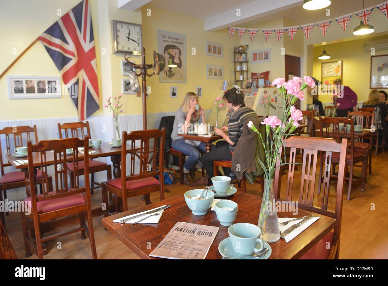 Tea Shop England Tables Stock Photos Amp Tea Shop England