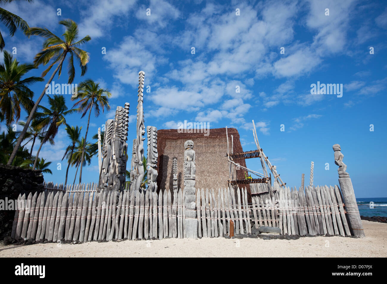 Hawaiian Tiki - Stock Image