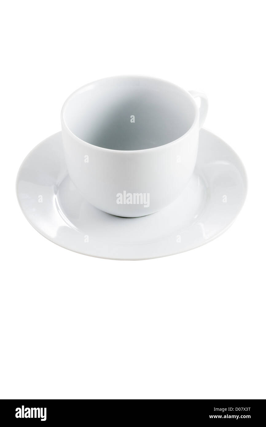 Cup and saucer - Stock Image