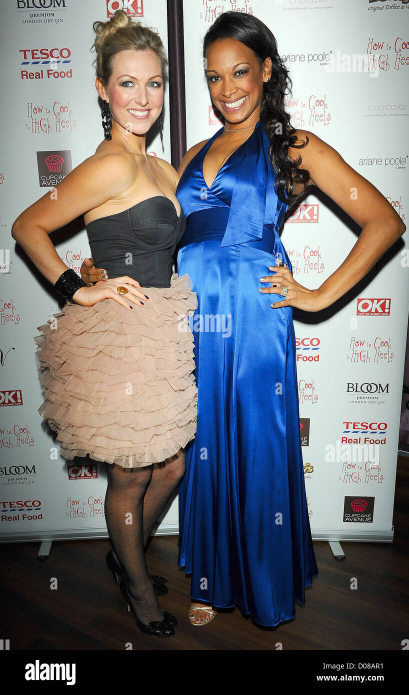 Korin lan, Sasha Parker, at the 'How To Cook In High Heels' book launch party held at Studio Valbonne London, - Stock Image