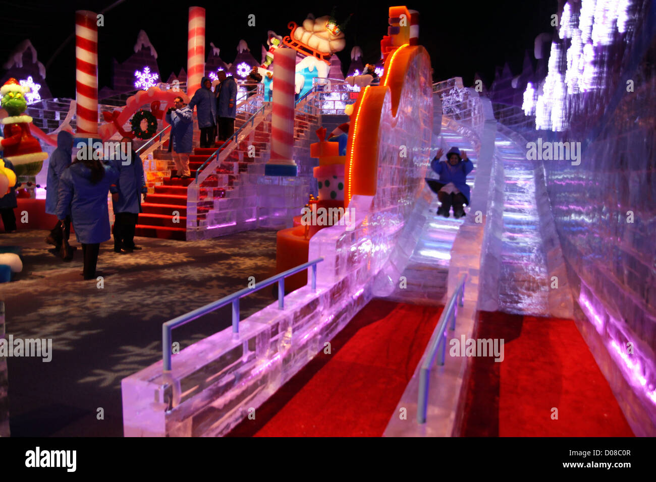 Christmas On The Potomac.Christmas On The Potomac Ice Is An Amazing Sculpted Ice
